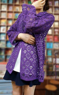 Crochet Jacket, Crochet Cardigan, Long Cardigan, Sweater Cardigan, Baby Knitting Patterns, Vest Jacket, Crochet Clothes, Pullover, Coat