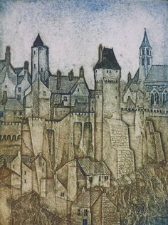 Gallery of Laurie Rudling - Aquatint Etchings, Collagraphs and Original Prints