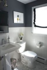 More ideas below: BathroomRemodel Small Bathroom Remodel On A Budget DIY Bathroom Remodel Ideas With Tub Half Paint Bathroom Shower Remodel Master Tile Farmhouse Bathroom Remodel Rustic Bathroom Remodel Before And After Laundry In Bathroom, House Bathroom, Beadboard Bathroom, Home Remodeling, Downstairs Bathroom, Bathroom Design, Bathroom Decor, Beautiful Bathrooms, Small Bathroom Remodel