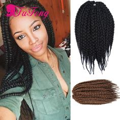 Crochet Box Braids Amazon : box braids hair extensiones crochet braids Nice Colors havana mambo ...