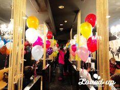 ホストクラブ、キャバクラのバースデーイベント!風船いっぱいの出張デコレーション!バルーンデコレーション専門サービス|Loved up balloons