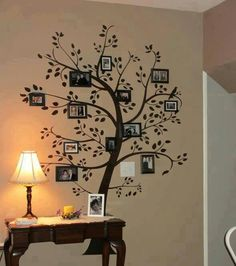 I want to put this on a wall one day...Photo Family Tree