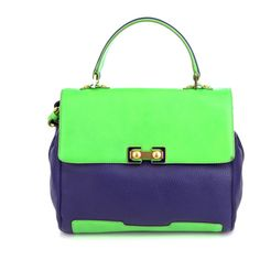 Marc by Marc Jacobs Colour-block bag ($374) ❤ liked on Polyvore