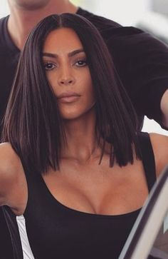 KimK. Love the hair