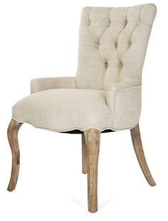 One Kings Lane - In the Bedroom - Iris Tufted Chair