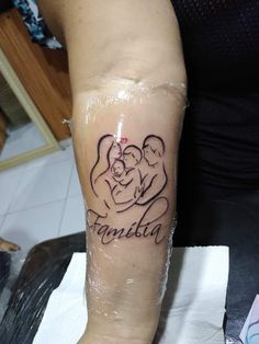 Mother Tattoos, Mom Tattoos, Forearm Tattoos, Tatoos, Family Tattoo Designs, Family Tattoos, Henna Patterns, Dad Daughter Tattoo, Tattoo For Son
