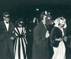 Black & White: Truman Capote's Famous Masked Ball — Retrospect | Apartment Therapy