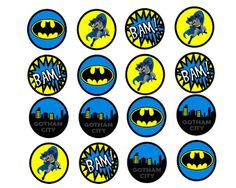 FREE Batman Birthday Party Printables | MySunWillShine.com