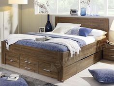 Postel Isotta 180x200 cm, dub Stirling Stirling, Relax, Furniture, Home Decor, Chalets, Bed Ideas, Decoration Home, Room Decor, Star Ring