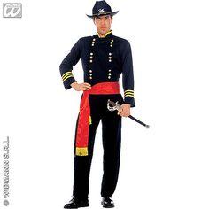 Disfraz de General Confederado #disfraces