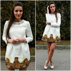 Dresslily Little White Dress