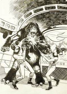 space family robinson | SPACE FAMILY ROBINSON ORIGINAL COVER ART (ISSUE #59)