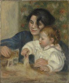 Pierre-Auguste Renoir (1841-1919) Gabrielle et Jean, 1895 Huile sur toile, H…