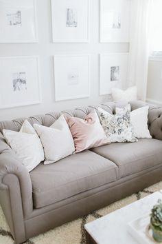 Peek Inside a Blogger's Glamorous Home Re-vamp - http://www.stylemepretty.com/living/2016/04/25/peek-inside-a-bloggers-glamorous-home-re-vamp/