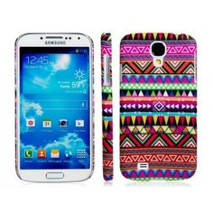 Native Tribe Pink Design Samsung Galaxy S4 Case