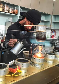 Blue Bottle Coffee in San Fransisco. If you love it, this is a must try when you visit San Francisco!