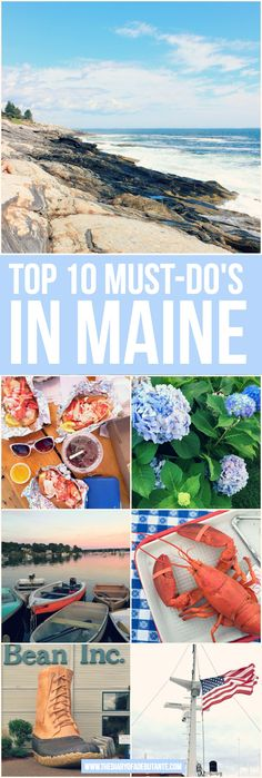10 Things to Do in Maine The ultimate Maine travel guide! A must-read for anyone looking for things to do in Maine in the summerThe ultimate Maine travel guide! A must-read for anyone looking for things to do in Maine in the summer East Coast Travel, East Coast Road Trip, Places To Travel, Travel Destinations, Places To Go, Vacation Places, Vacation Spots, Vacation List, Vacation Wishes