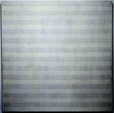 agnes martin Linear Art, Agnes Martin, Cy Twombly, Modern Paintings, Grey Light, Op Art, American Artists, Techno, Fields