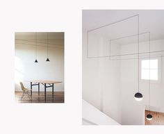 String lights | For Flos | By Michael Anastassiades