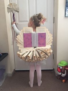 10 really simple World Book Day costume ideas - Book Fairy sent by Louise Rogers, for World Book Day - Character Dress Up, Book Character Costumes, World Book Day Costumes, Book Character Day, Story Book Costumes, Family Costumes, Group Costumes, Homemade Halloween, Halloween Kostüm