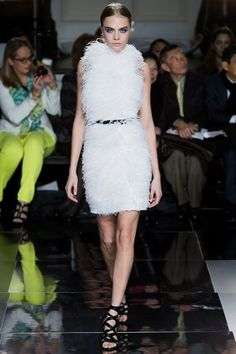 Feathers autumn/winter 2013 eveingwear trend (Vogue.com UK)