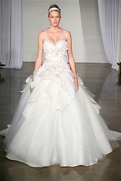 Marchesa gown.