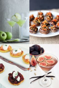 Thanksgiving cocktails and appetizers plus every other course, too.  99 #glutenfree Thanksgiving Recipes on Tasty Yummies