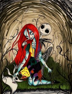 My Halloween Costume idea! SALLY & JACK SKELLINGTON ~ The Nightmare before Christmas, 1993