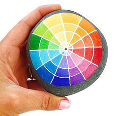 When in doubt, just paint a color wheel .