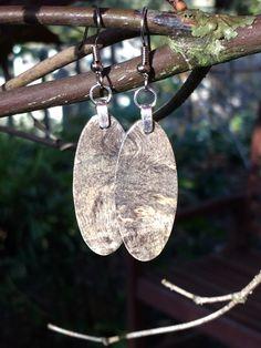 20 Dollar Wood Earrings Made From Buckeye Burl Wood by forestlifecreations on Etsy Wood Earrings, Etsy Earrings, Buckeye Burl, Dog Tag Necklace, Pendants, Jewelry, Jewlery, Wooden Earrings, Jewerly