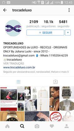 Rafaela Büll Blog: Troca de Luxo - E commerce de Luxo Consciente *