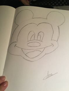 It's Mickey Mouse