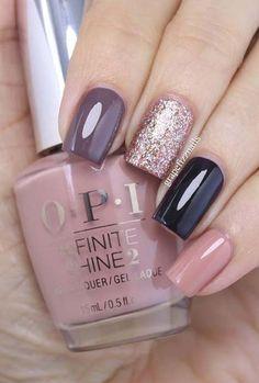 Grape-fizz-nails-pointer-finger