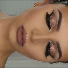 Closed eye make-up by prev post. Anastasia Beverlyhills Dipbrow in ebony … – Prom Make-Up Ideas Stunning Makeup, Pretty Makeup, Love Makeup, Makeup Inspo, Glam Makeup, Elegant Makeup, Makeup Style, Makeup Geek, Makeup Remover
