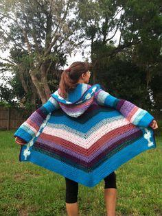 TUTORIAL: Spitzen Pixie Mantel von EarthTricks auf Etsy