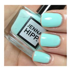 Jenna Hipp What's Hot Now Nail Collection Review, Photos, Swatches ❤ liked on Polyvore featuring beauty products, nail care, nail polish, nails, makeup, beauty and unhas