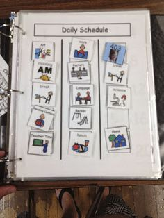 More and More Schedules--great post from The Autism Tank that discusses the need to move students forward in their use of schedules.