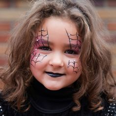 Kids Witch Makeup, Halloween Makeup For Kids, Childrens Halloween Costumes, Cute Halloween Makeup, Kids Makeup, Easy Halloween, Makeup Eyes, Witch Face Paint, Halloween Crafts To Sell