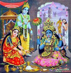 Hindu Cosmos — Lakshmi Narayan Hosting Goddess Kali Episode of. Arte Shiva, Kali Shiva, Kali Puja, Shiva Art, Hindu Art, Shiva Shakti, Indian Goddess Kali, Goddess Art, Durga Goddess