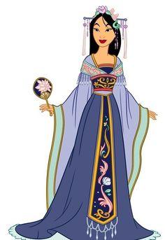 50 Chibis Disney Mulan | Mulan+chibi