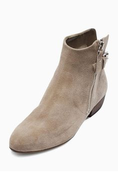 Buy Grey Square Toe Suede Slouch Ankle Boots online today at Next