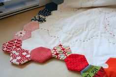 Tutorial - Finishing Your Hexagon Quilts