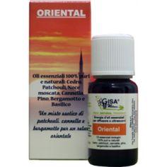 Oriental - Sinergia Olio essenziale per diffusori di aromi ad ultrasuoni - Gisa Wellness