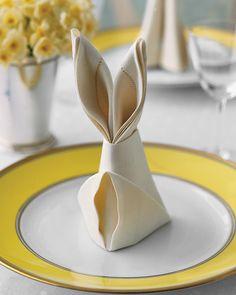 Bunny Fold for Napki
