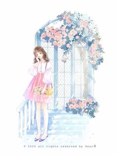 Girls With Flowers, Hey Girl, Anime, Disney Characters, Fictional Characters, Cinderella, Photo Editing, Romance, Teen