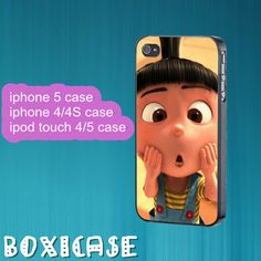 Despicable Me Minion---iphone 4 case,iphone 5 case,ipod touch 4 case,ipod touch 5 case,in plastic,silicone and black , white. by Boxicase, $14.95