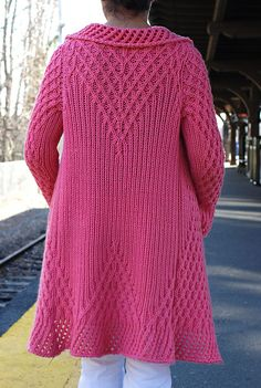 Latticework Jacket pattern by Lori Versaci