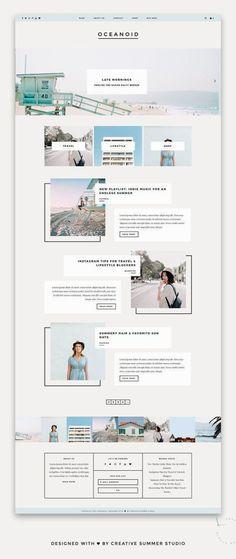 New travel design layout wordpress theme Ideas Layout Design, Blog Layout, Website Layout, Web Layout, Page Design, Website Ideas, Design Design, Website Designs, Best Blog Designs