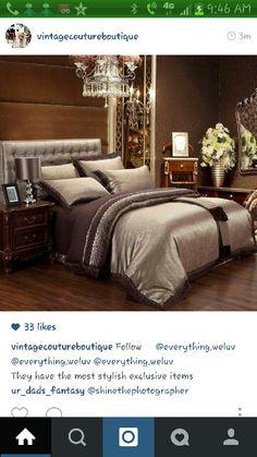 Master Bedroom. #warm #cozy #luxury #homeDeco #bedroom
