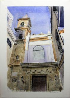 Purchase Calle de la Palma - Painting by Fernando Benítez Gabriel from 43 EUR and 50% off (2015/01/23) at Artelista.com, with free delivery & refund worldwide